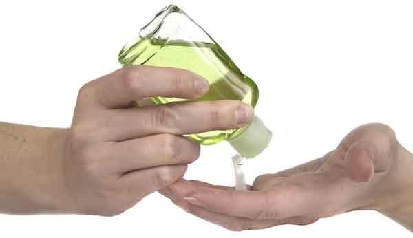 Гель для дезинфекции рук